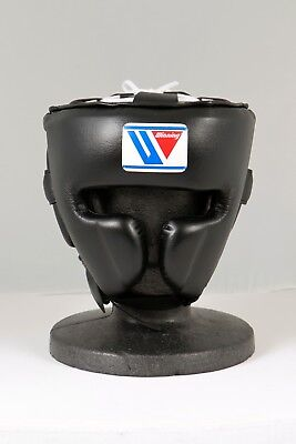 Winning FG-2900 Headgear Face guard Type  Size:Medium, color:Black