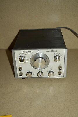 Ss Wavetek Model 142 Hf Vcg Generator Yy