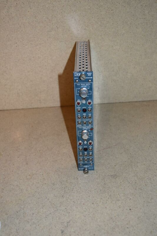 LECROY MODEL 222 DUAL GATE GENERATOR PLUGIN (TP1024)