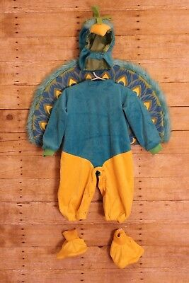 InCharacter Peacock Complete Costume Toddler Small 6-12 Months