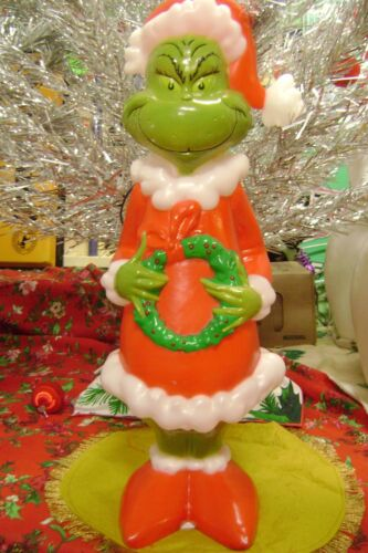 2019 LIMITED FIRST EDITION CHRISTMAS LIGHTED DR. SEUSS GRINCH BLOW MOLD-GEMMY