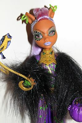 Monster High Clawdeen Wolf Ghouls Rule Kostümparty Halloween Doll