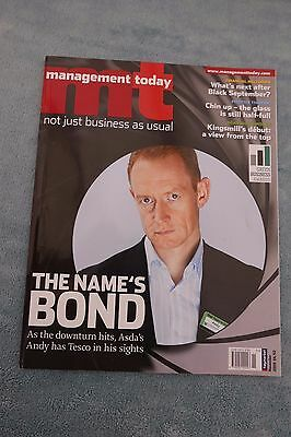 Management Today Magazine: November 2008, Andy Bond at ASDA