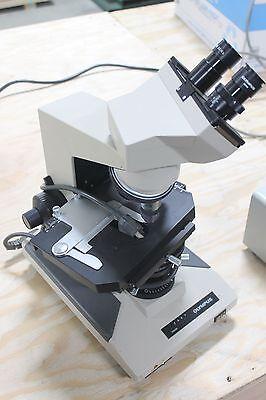 Olympus Bh-2 Microscope Wwhk 15xl Objectives Dplan20 40 100 Nice