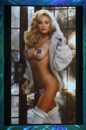 1992 Playboy Magazine Rare Suzi Simpson Collectr Promo Poster 24X36 New OOP 92SS