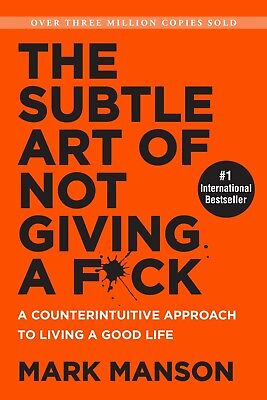Купить The Subtle Art of Not Giving a F*ck - Paperback BOOK Brand New Free Shipping