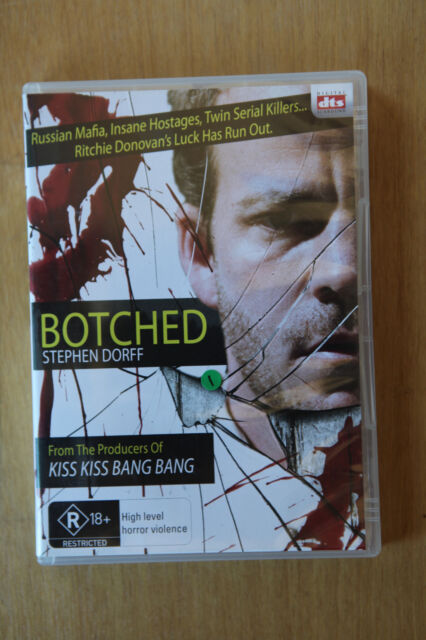 Botched - DVD, R4, 2007, Horror - PRE OWNED VGC (Box D15)