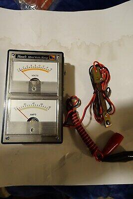 Vintage Hawk Mini Volt Amp Meter