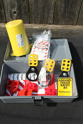 Brady Prinzing Electrical Lock Out Tag Out Kit - Used