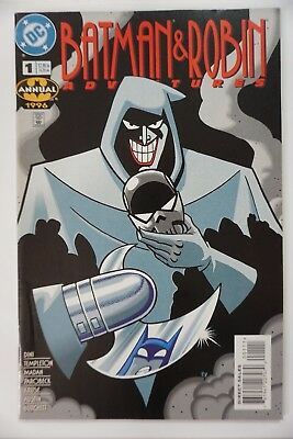 Batman & Robin Adventures Annual #1 Joker 1996 1st MASK OF THE PHANTASM KEY (Batman And Robin Masks)