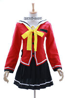 Mn-06 Charlotte Nao Tomori Anime Rosso Uniforme Scolastica Cosplay Costume -  - ebay.it
