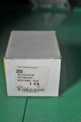 Daniel Woodhead Multiple Outlet Box Series 3000