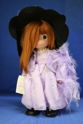 """Precious Moments 16"""" Vinyl Doll Pretty As Can Be Red Head LE 500 1174"""