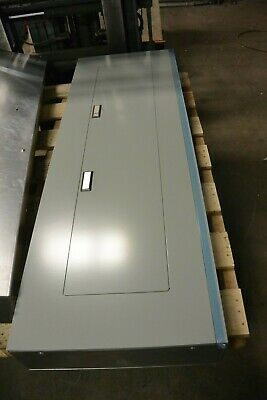 New Eaton Prl1a 400 Amp 3 Phase 208v 42 Circuit Main Lug Indoor Feed Thru Panel