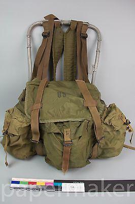 Rare Vietnam US Army Lightweight Rucksack 1966 Ruck Sack Tropical