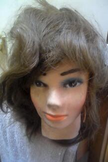 Hairdresser mannequin female head rubber and plastic Narre Warren Casey Area Preview