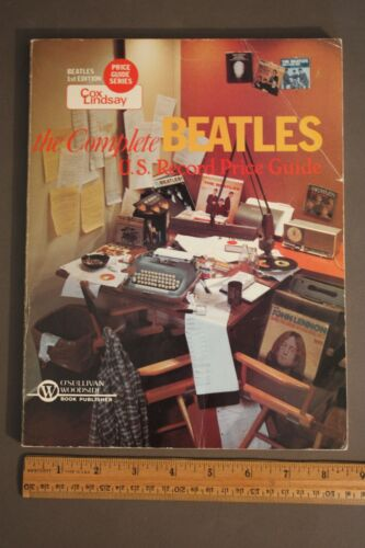 THE COMPLETE BEATLES U.S. RECORD PRICE GUIDE 1ST EDITION COLLECTIBLE 1983