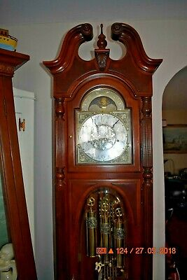 Howard Miller Grandfather Clock Model 610-948 Stewart working and serviced