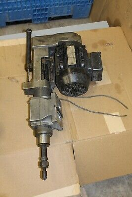 Selfeeder Drill Unit Sn4u  230460v 3.15 Stroke  Sugino Selfeeder