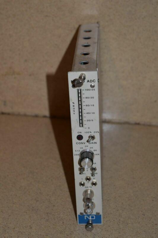 CANBERRA MODEL 8807 FAST  ADC NIM BIN MODULE (TP63)