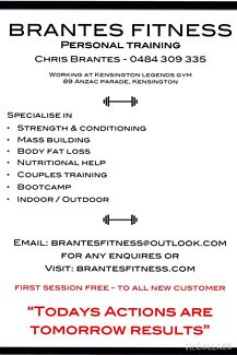 Personal Training  Annandale Leichhardt Area Preview