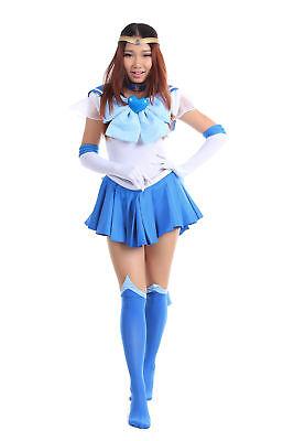 Sailor Moon Super S Cosplay Costume Sailor Mercury - Super Sailor Moon Kostüm