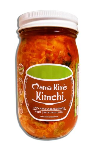 16oz Jar Korean Spicy Napa Cabbage Kimchi from Mama Kim