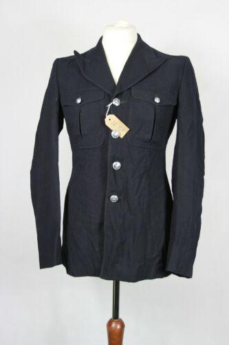 Genuine Vintage Metropolitan Police Black Wool Jacket British Police Uniform
