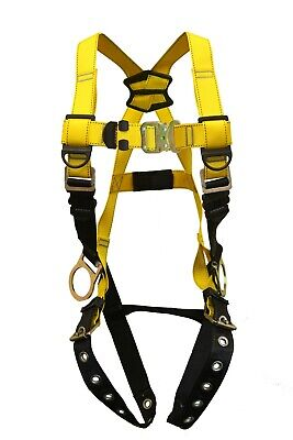 Guardian Fall Protection Series 1 Harness Xs-s Wqc Chest Tb Legs Side D-rings