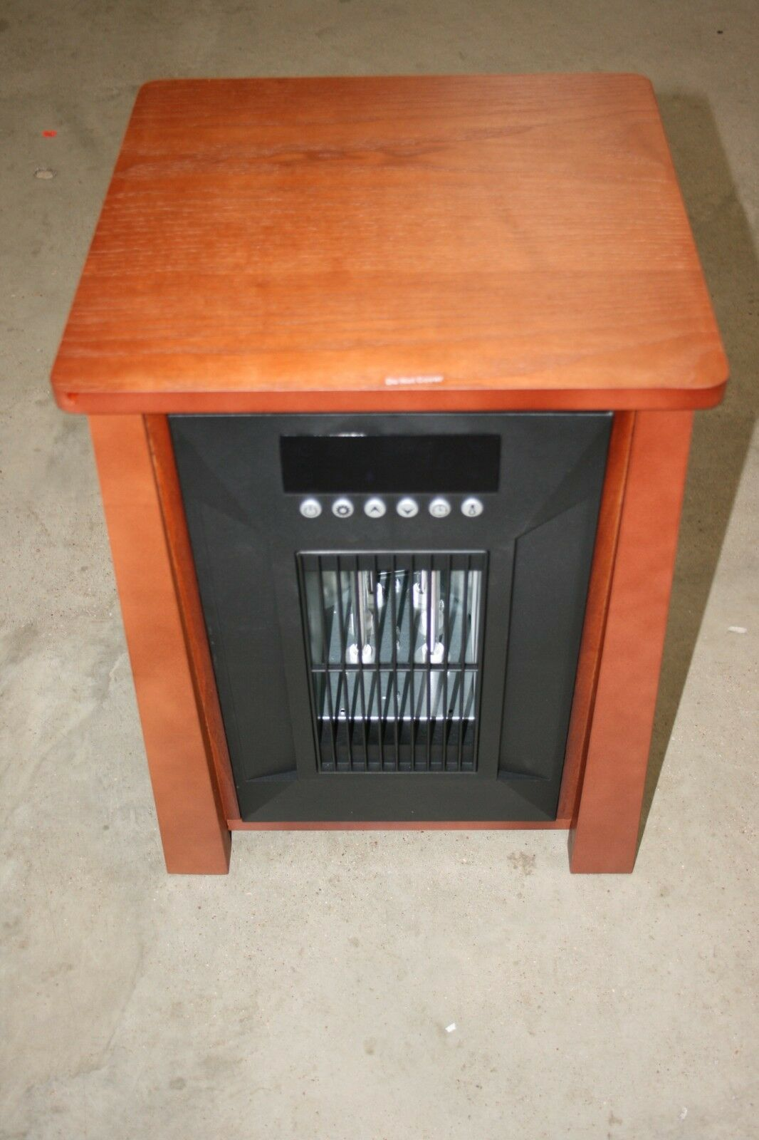 Electric Portable Infrared Quartz Space Heater w/ Remote