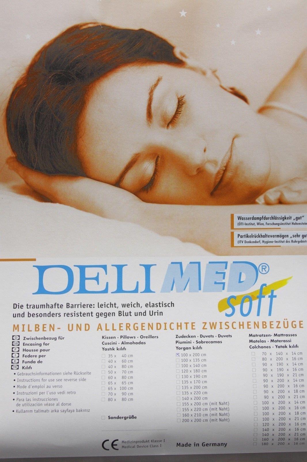 Allergiker Matratzenbezug Milbendicht Milbenschutz Bettwäsche 90x190x21cm Soft
