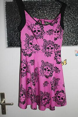 Süßes pinkfarbenes Kleid für Fasching, Karneval Haloween Gr. 38 -NEU-