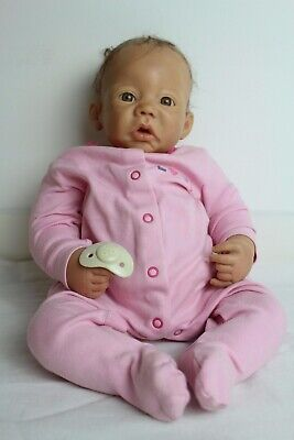 Reborn ADG Girl Baby Realistic Doll - Lifelike & Weighted