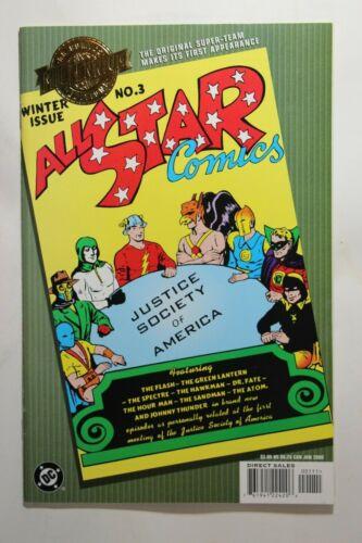 MILLENNIUM EDITION: ALL STAR COMICS #3 - 1ST APP. OF J.S.A. - 2000 DC COMICS