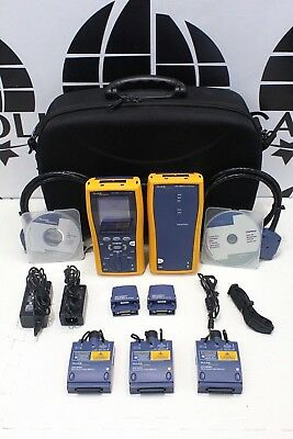 Fluke Dtx-1800 Cable Analyzer Dtx-mfm2 Mm Dtx-sfm2 Sm Fiber Dtx-1800-ms