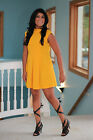 Zara Solid Tunic Dresses
