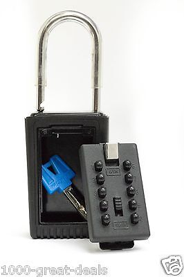 New Realtor Lock Box Real Key 10 Digits Storage Estate Security Wall Mount Safe