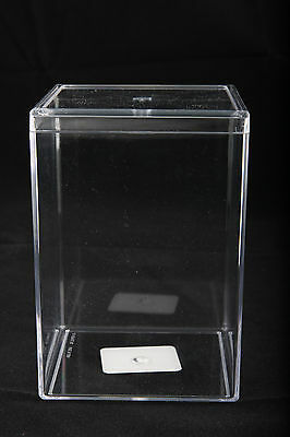 New  Clear Plastic Acrylic Display Case 3 X 3 X 5