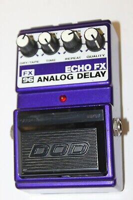 DOD FX96 Echo FX Analog Delay Guitar Effect Pedal - USA w/MN3005 Chip  #R3301