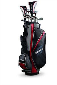 Callaway-Golf-Mens-13-Piece-Strata-Golf-Club-Set-Uniflex-Retail-Price-249-95-RH