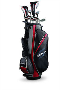 2013 Callaway Golf Men's 13 Piece Strata Set New Uniflex Retail Price 249.95 RH