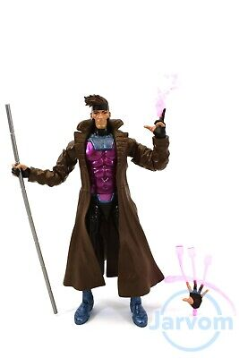 "Marvel Legends 6"" Inch Caliban BAF Wave X-Men Gambit Loose Complete"
