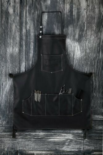FACON PROFESSIONAL LEATHER HAIR CUTTING HAIRDRESSING BARBER APRON CAPE FOR SALON