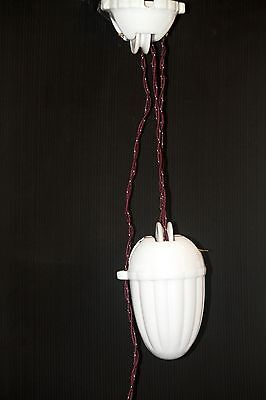 Rise & Fall Lamp pulley weight pendant hanging light French style NEW retro