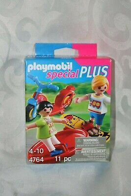 Playmobil 4764 Special Plus: Two Children with Toys Excellent Condition