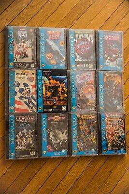 SEGA CD Lot - Lunar Silver Star Dungeon Explorer + Many More CIB Complete Games