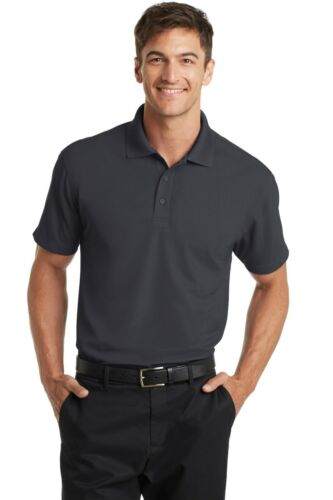 12 Custom Embroidered Dry Zone Grid Polo-K572 Port Authority Polo Shirt $17.50