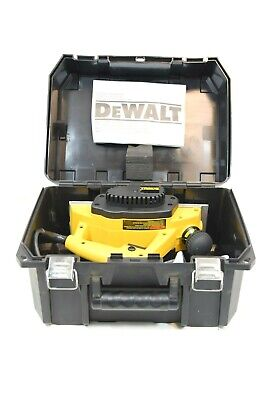 Dewalt Dw680k 3 14 Heavy Duty Planer Type 1 With Case. 15000rpm 120v 5.2a