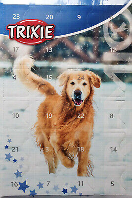 DOG CHRISTMAS ADVENT CALENDAR 24 MEAT TREATS For Your Dog Trixie 0% Added Sugar