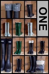 Rubber boots and socks
